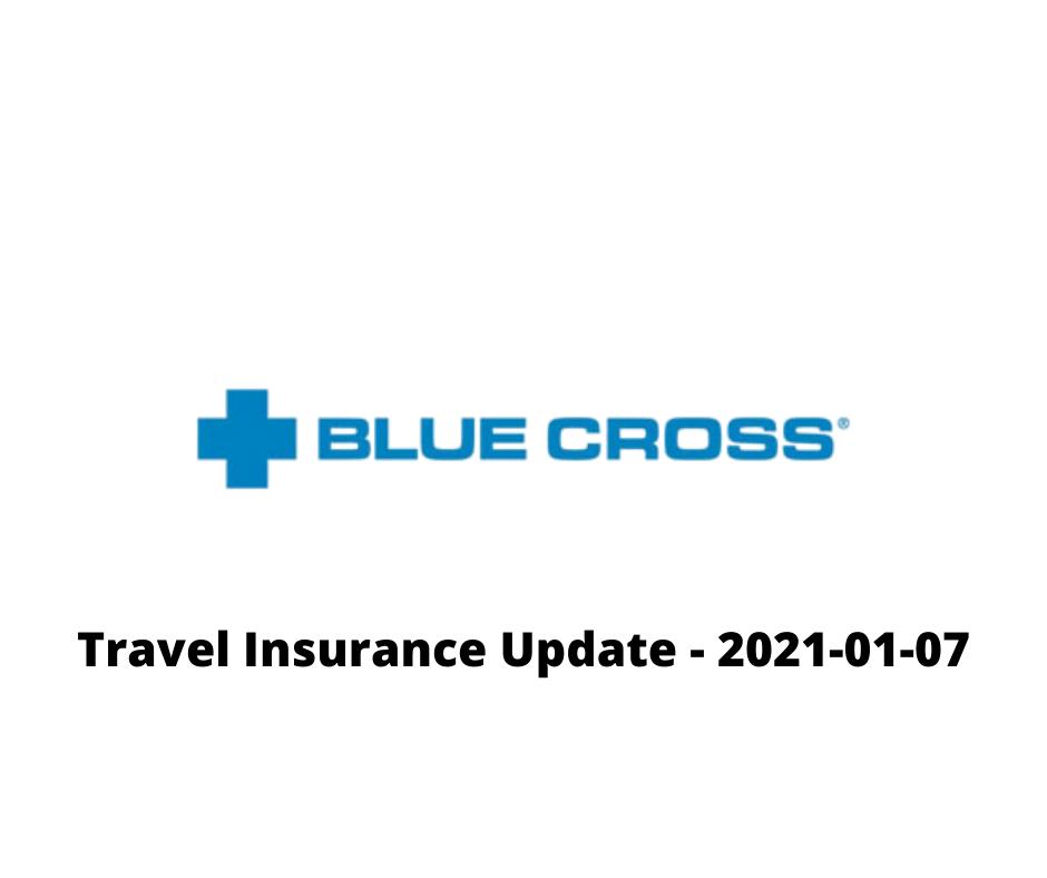 Travel insurance update